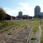 Old roundhouse site in Vic West