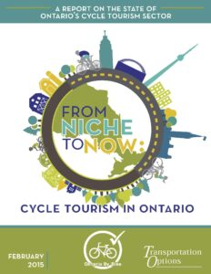 Cycle Tourism In Ontario 2015